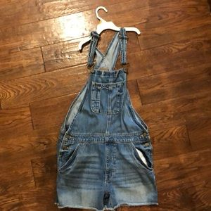 American Eagle Outfitters Shorts - American Eagle Short Overalls